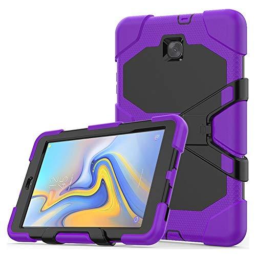 GHC PAD Fundas & Covers Para Samsung Galaxy Tab A 8 2018 SM-T387 T387, Funda a prueba de golpes de stand de Silicon Three Layer Resistente al alto impacto para Samsung Galaxy Tab A 8 2018 SM-T387 T387