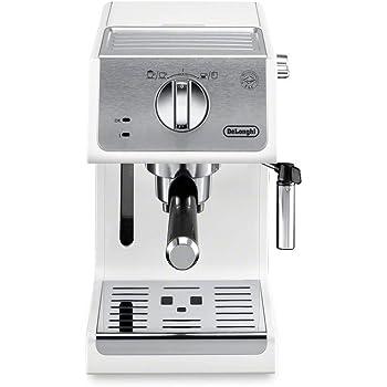 De'Longhi ECP3220W 15 Bar Espresso Machine with with Advanced Cappuccino System White