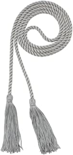 Honor Cord - GRAY - Every School Color Available - Made in USA - By Tassel Depot