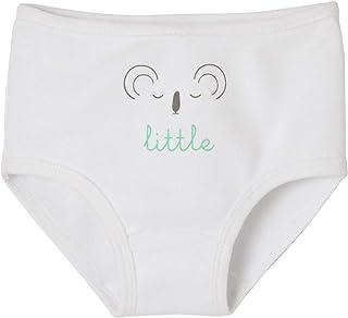 44362fb370 VERTBAUDET Lot de 5 culottes bébé pur coton spécial couches Blanc 24M - 86CM