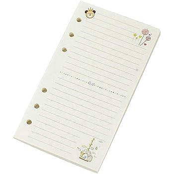 45 Fogli A5 A6 Colorful Loose Leaf Notebook Ricarica Spiral Binder Planner Pagina Interna Forniture per Ufficio
