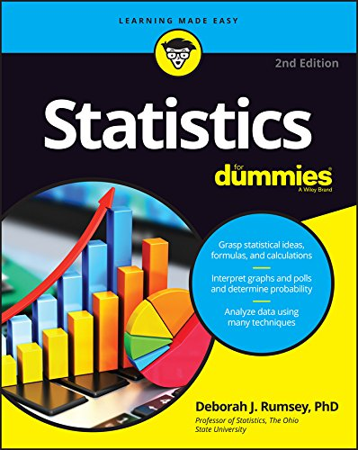 Compare Textbook Prices for Statistics For Dummies For Dummies Math & Science 2 Edition ISBN 9781119293521 by Rumsey, Deborah J.