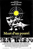 Mort d'unpourriチェイサーフランス映画ヴィンテージフィルム装飾ポスター壁キャンバス家の装飾寝室の壁の装飾50x70cmフレームなし