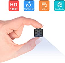 Mini Hidden Camera, Eslibai HD 1080P Spy Camera, Night Vision Camera Hidden Camera Nanny Camera with Motion Detection for Home or Office Security