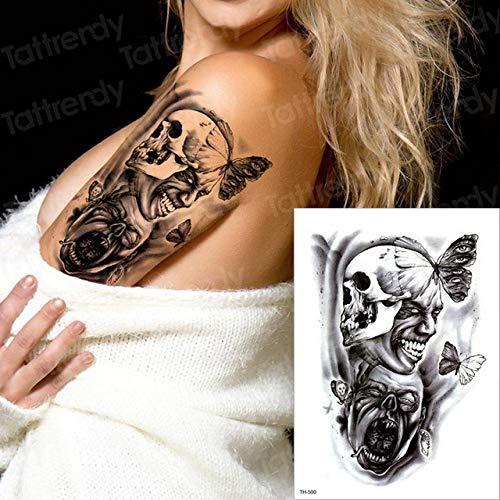 tzxdbh 3pcs Impermeables El Tatuaje Tatuaje Tatuaje Hombre del ...