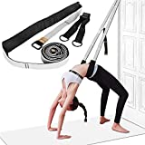 Yoga Stretching Strap, Leg Stretcher Backbend Assist Trainer Pilates Equipment for Home Workouts Back Waist...