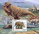 Chad - 2021 Dinosaurs, Anchiceratops - Stamp Souvenir Sheet - TCH210108b