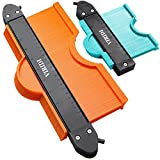 Contour Gauge With Lock, VIRIDI 2 pack 5 & 10 inch Widen Profile Gauges Measure Ruler Contour Duplicator Comb Tool for Copies Irregular and odd Corners Shapes - Instant Template for DIY Woodworking