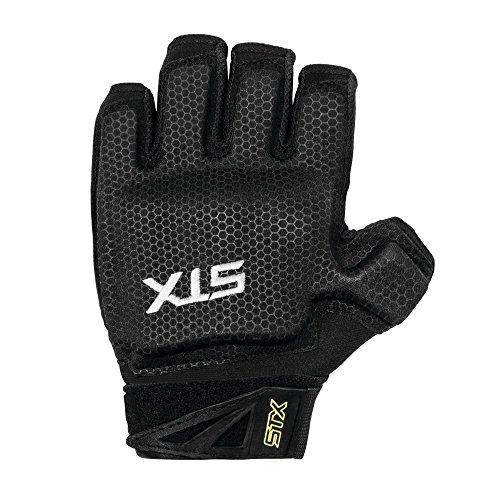 STX FH 621 BK/L3 Field Hockey Stallion Field Hockey Glove, Large,Black/Yellow