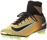 Nike Mercurial Veloce III DF FG, Scarpe per Allenamento Calcio Uomo, Arancione (Laser Orange/Black/White/Volt), 41 EU
