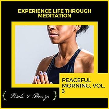 Experience Life Through Meditation - Peaceful Morning, Vol. 3