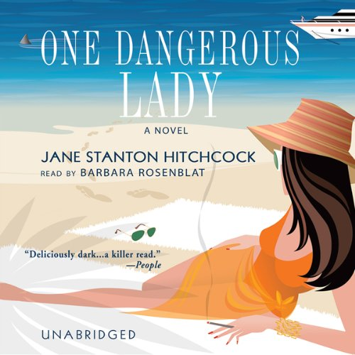 One Dangerous Lady audiobook cover art