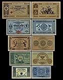 *** 5,20,50,100,1000 Reichskassenschein/Banknoten 1874 - 1876 - Pick 1-2-3-10-11 - Reproduktion *** -