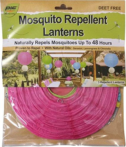 Pic Mosquito Repellent Citronella Plus Paper Lanterns (3 Pack)