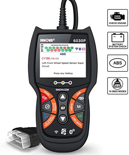 INNOVA 6030P Code Reader ABS Check Engine Light OBD2 Scanner Live Data Diagnostic Scan Tool product image