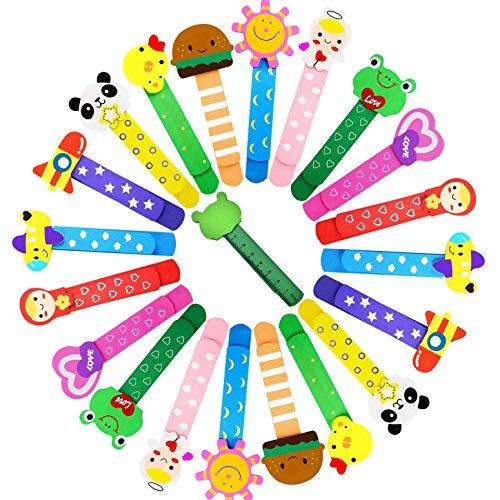 ZOCONE Segnalibro Animali Legno Segnalibri, 40 Pezzi Segnalibri Bambini Segnalibro Animali, per Battesimo/Compleanno Bambini/Festa Bambini