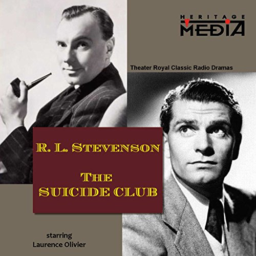 The Suicide Club audiobook cover art