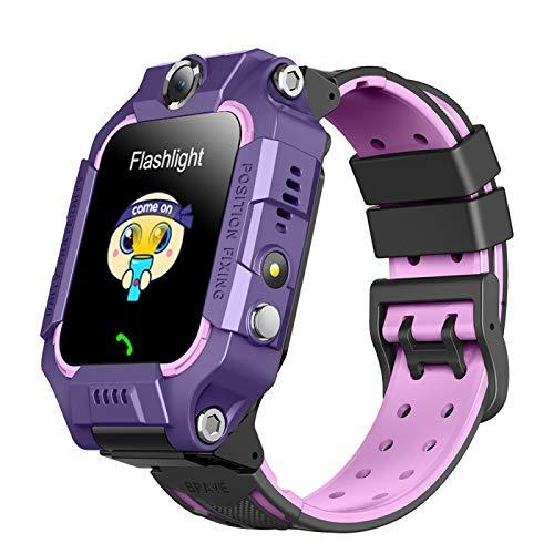 Kids Call Smart Watch LBS Kinder SOS Anti-Verlust Wasserdicht Smartwatch Baby 2G Uhr Location Tracker Uhr 8 Kinder Spiel