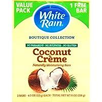 White Rain バーソープ ココナッツクリーム 113g×2本入