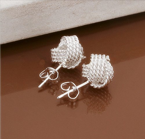 Skyllc® Pendientes de la joyería de las mujeres personalizada tejido alérgicos
