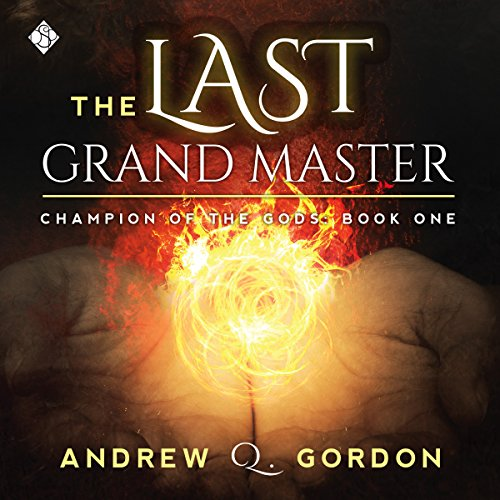 The Last Grand Master audiobook cover art