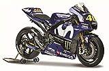 マイスト 1/18 ヤマハ YZR-M1 2018 MotoGP GP18 バレンティーノ ロッシ Maisto 1:18 Yamaha YZR-M1 2018 MotoGP GP18 46 Valentino Rossi オートバイ Motorcycle バイク Bike Model ロードバイク