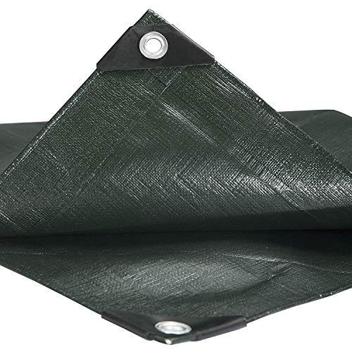 ZIYEYE Carport Persenning Regen-Abdeckung |Double-Layer-Shade Wasserdicht Mit Löchern Markise Abdeckplane |Camping Fischen Schutzhülle Auto-Haube (Size : 300×200cm)