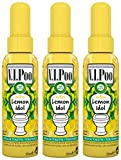 Air Wick Spray V.I. Poo Perfume Anti Olor, Fragrancia Lemon Idol 55 ml - Paquete de 3 unidades