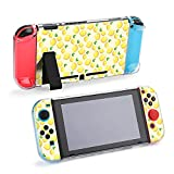 Case for Nintendo Switch,Yellow Pastel Lemon Aesthetic Protective Case Cover for Nintendo Switch Funny Fashion Switch Game Shell Handheld Grip Protector Cover
