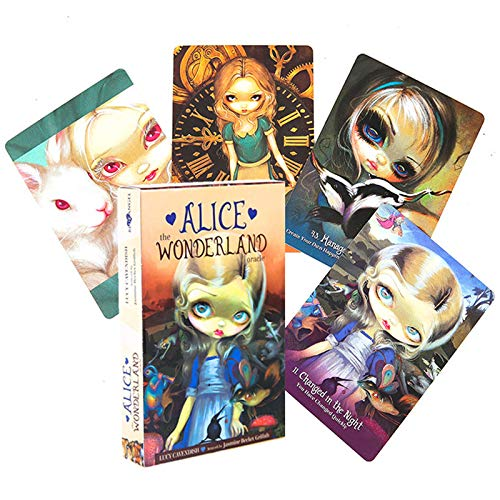 BSWL Alice in Wonderland Oracle Card, predendo Il futuri Destino, Il Gioco da Tavolo Casual, la Carta da Poker, la divinazione Inglese, Il Gioco da Tavolo, i tarocchi della Carta