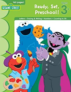 Sesame Street Ready, Set, Preschool!: Ages 3+ (Ultimate Skill Builders)