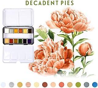 Prima Marketing Watercolor Confections Decadent Pies