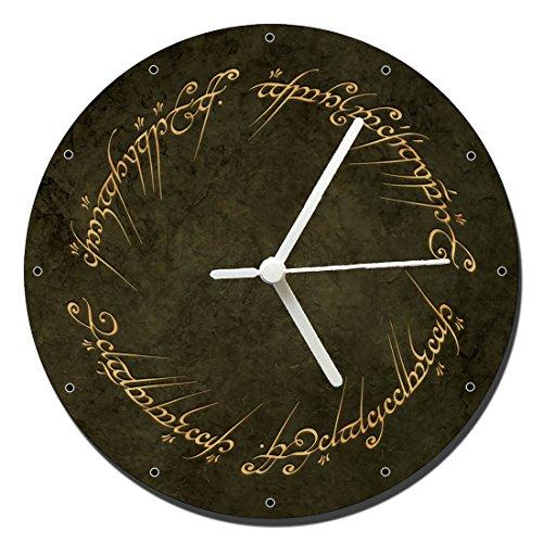 MasTazas El Señor De Los Anillos The Lord of The Rings B Reloj de Pared Wall Clock 20cm
