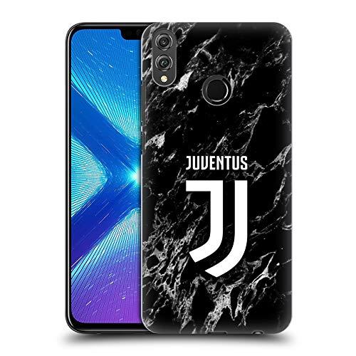 Head Case Designs Ufficiale Juventus Football Club Nero 2017/18 Marmoreo Cover Dura per Parte Posteriore Compatibile con Huawei Honor 8X / View 10 Lite