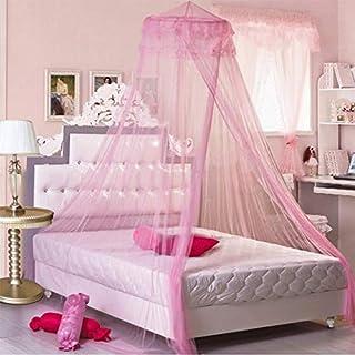 AILIN1 Home Décor Canapé Lit De Princesse Moustiquaire Palace Rond Ciel De  Lit Pour Chambre De