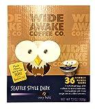 Wide Awake Coffee Seattle Style Dark Single Serve Cups...