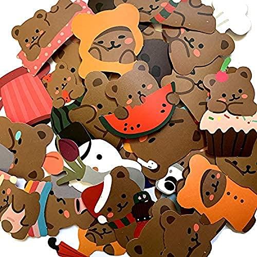 JZLMF Maletín infantil de dibujos animados con pegatinas creativas e impermeables para ordenador, portátil, guitarra, monopatín, maleta con ruedas de viaje, pequeño diseño