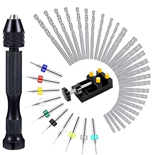 TOPofly Bohren Metall Bits Mini-Stich Bohrer Kleinstbohrer DIY 37pcs Praktische Werkzeuge