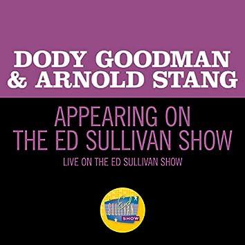Appearing On The Ed Sullivan Show (Live On The Ed Sullivan Show, November 16, 1958)