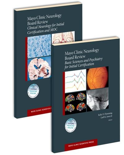 Compare Textbook Prices for Mayo Clinic Neurology Board Review SET Mayo Clinic Scientific Press 1 Edition ISBN 9780190244897 by Flemming, Kelly D,Jones, Lyell K