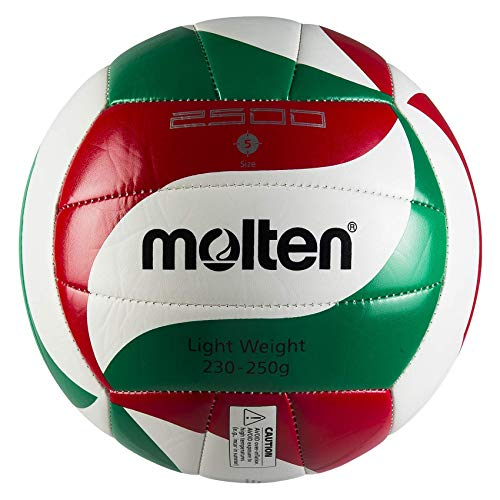 Molten V5 M2501 L 5501500 Man ballon Volley Rood