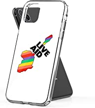 nasboy Live Aid Band Aid 1985 Symbol Case Cover Compatible for iPhone iPhone (11 Pro Max)