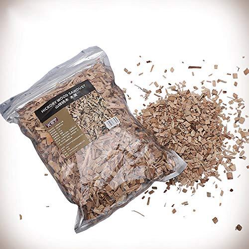 Ruby Lil 1.10Lb/500G Smoking Wood Chunks,Pecan Wood Chips for Smoker,