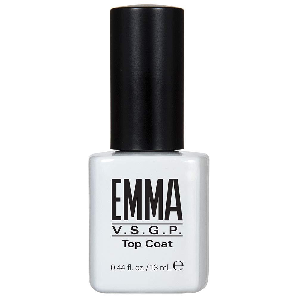 EMMA Beauty Top Coat Treatment for Gel Elegant Polish UV LED Cure Over item handling Light