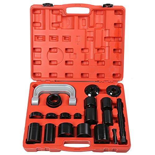 Ejoyous Ball Joint Press Tool Set, 21pcs Ball Joint Remover Tool Ball Joint Press Kit Ball Joint Service Adapter Tool Kit with Adapters for Car Light Truck