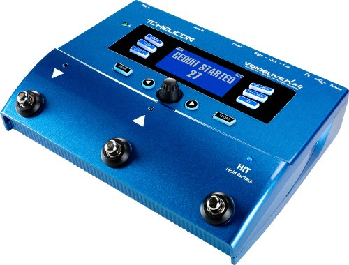 TC Helicon Voice Live Play Vocal Effects Processor