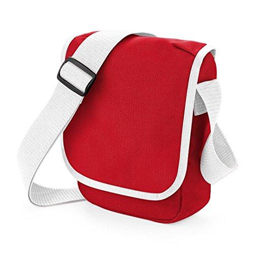 Bagbase Mini Reportertasche Rot / Wei?