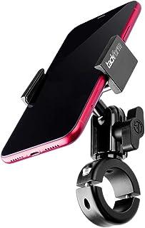سوار موتور سیکلت فلزی برای تلفن - توسط TACKFORM [سری Enduro] - بدون نیاز به تیراندازی. نگهدارنده راک جامد برای دستگاه های آیفون و سامسونگ با اندازه معمولی و پلاس. گرفتن بهاره صنعتی