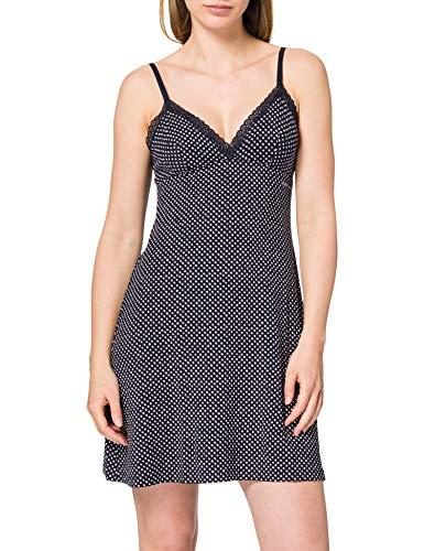 Tommy Hilfiger Strappy Dress Print ESTRAPPY Vestido, Impresión de Lunares, L para Mujer