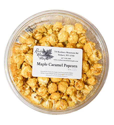 Great Features Of Maple Caramel Popcorn, Roxbury Mountain Maple, 10 Oz